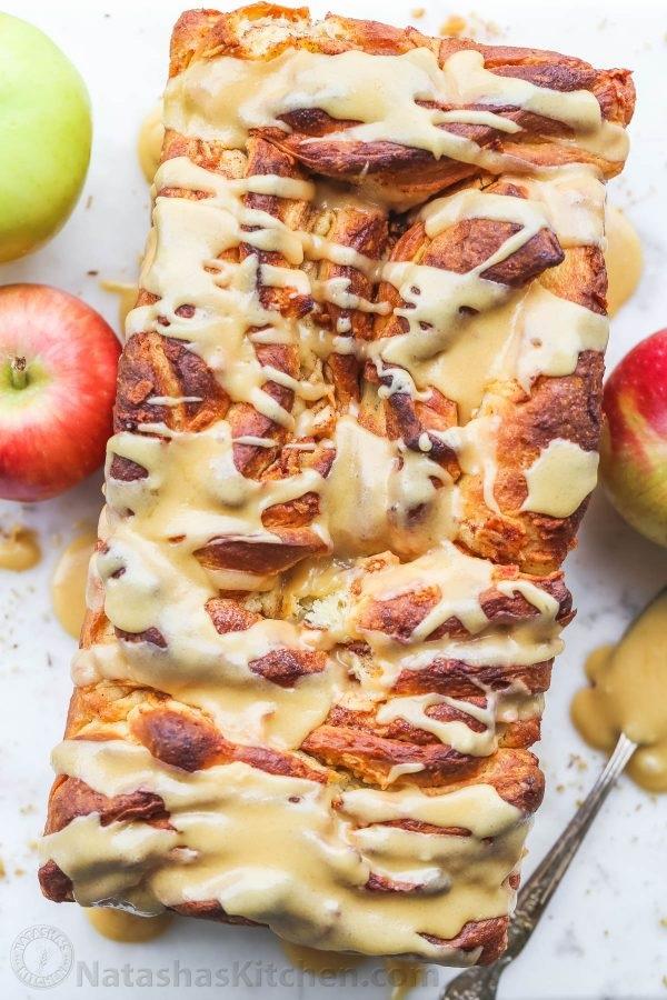 Pull-Apart Apple Bread