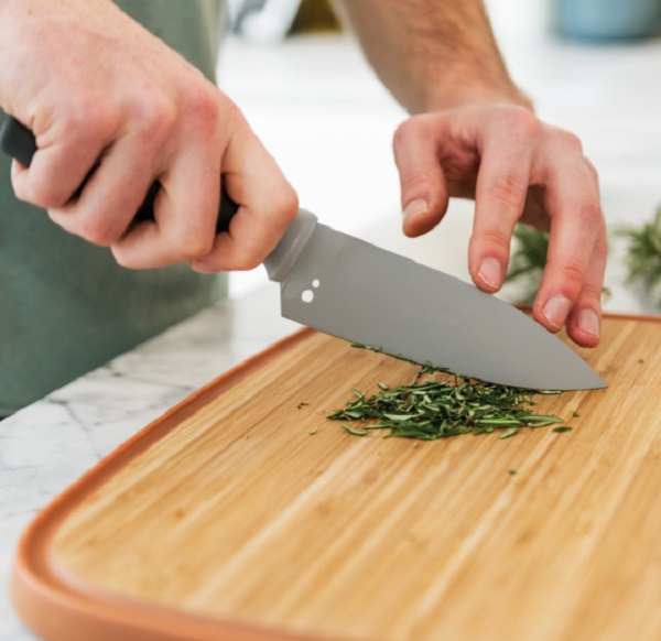 BergHOFF Small Chef's Knife With Greens and Herb Stripper