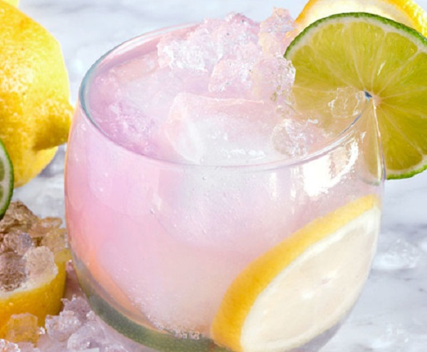 Easy Pink Lemonade Baby Shower Punch