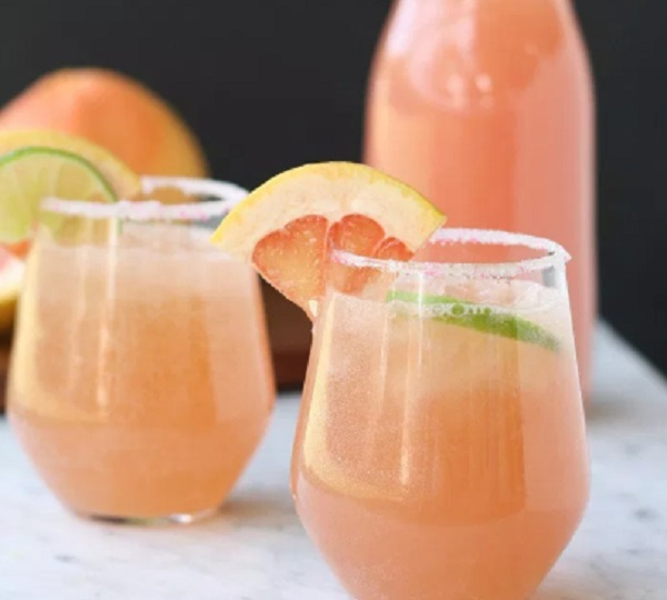 Sparkling Grapefruit Baby Shower Punch