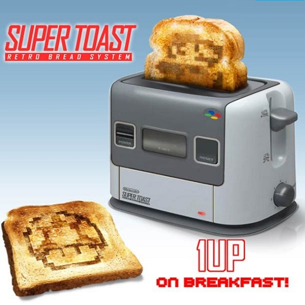 Super NES Toaster
