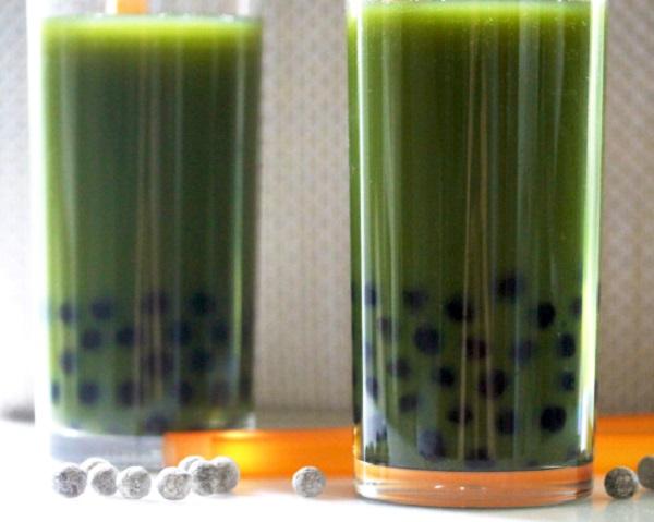 Green Juice Bubble Tea