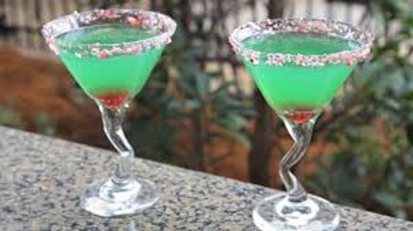Grinch Martini