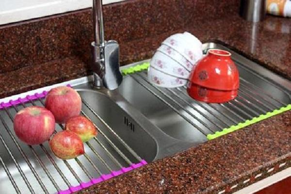 Adjustable Stainless Steel Kitchen Sink Strainer