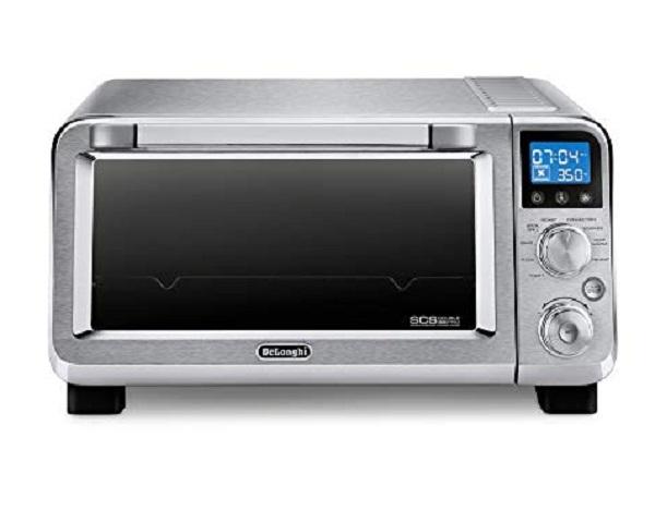 "De'Longhi EO141150M Livenza Compact 12"" Electric Pizza Oven"