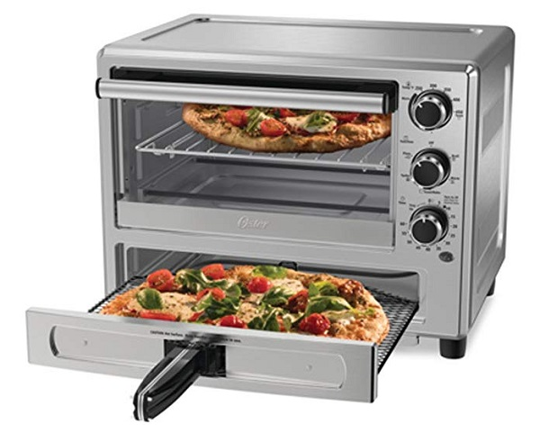"""Oster TSSTTVPZDS 12"""" Electric Pizza Oven"""