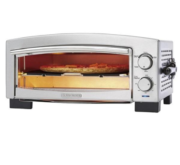 "Black & Decker 12"" Electric Pizza Oven"