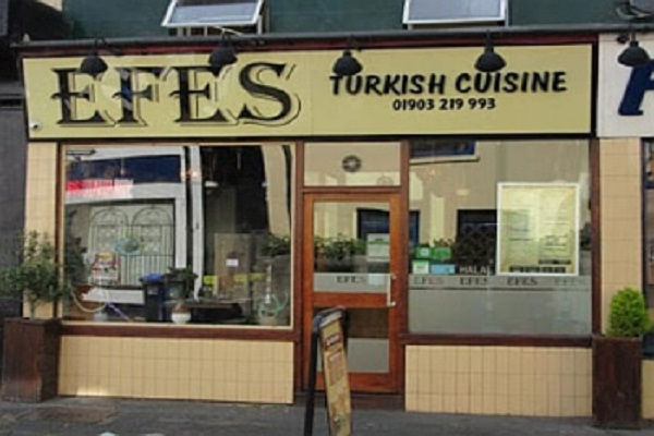 Efes, Clifton Rd, Worthing