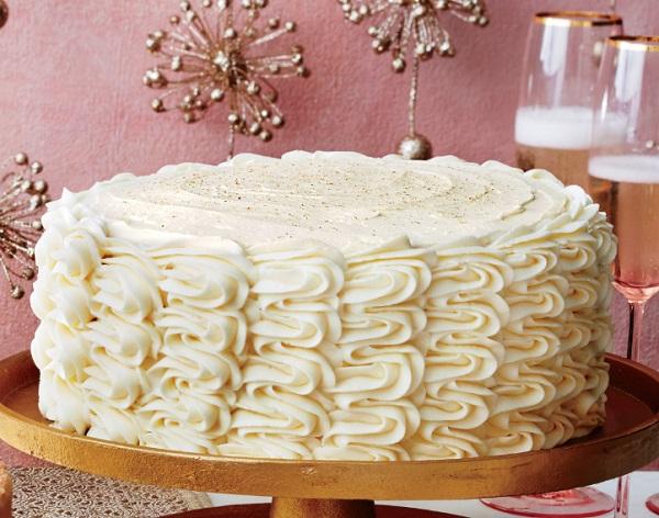 Eggnog Spice Cake