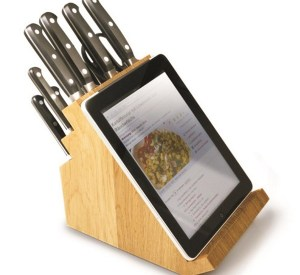 Ten Ways to Use and Hold Your Tablet in the Kitchen