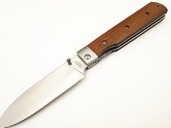 Risuning Sharp Stainless Steel Japanese Folding Kitchen Knife