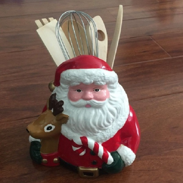 Father Christmas (Santa Claus) Utensil Holder