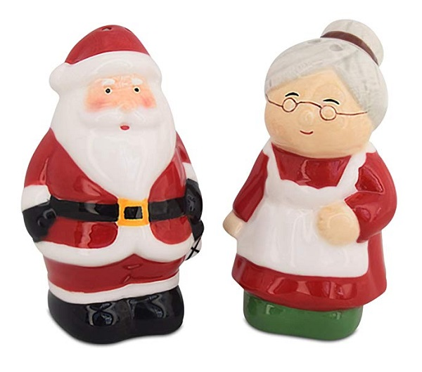 Father Christmas (Santa Claus) Salt and Pepper Shakers