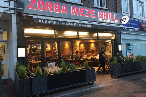 Zorba Meze Grill, Upper Grosvenor Rd, Tunbridge Wells