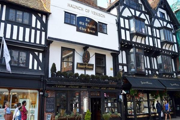 The Haunch Of Venison, Minster St, Salisbury