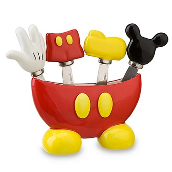 Disney Mickey Mouse 5pc Spreader Set