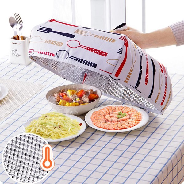 Foldable Aluminum Foil Food Cover