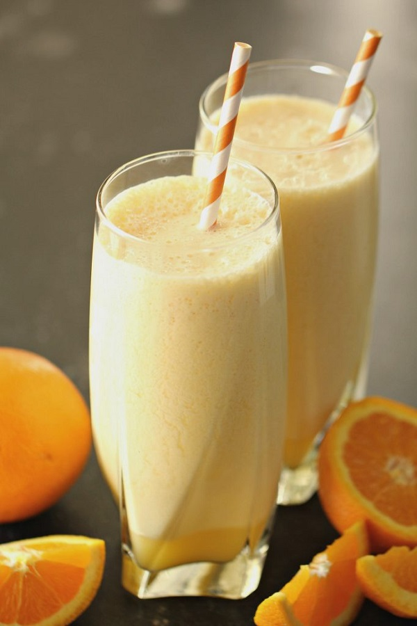 Healthier Orange Julius With Banana