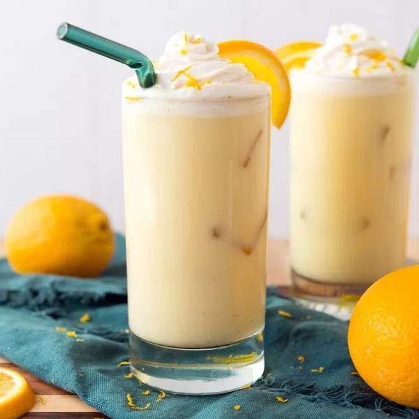 Vegan Spiked Orange Julius