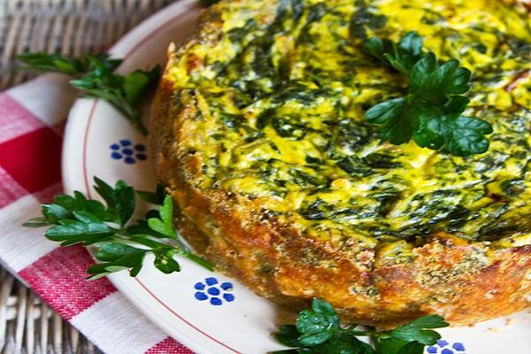 Spinach & Ricotta Cheese Savoury Tart