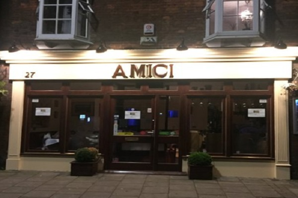 Amici Bedford, St Peter's St, Bedford