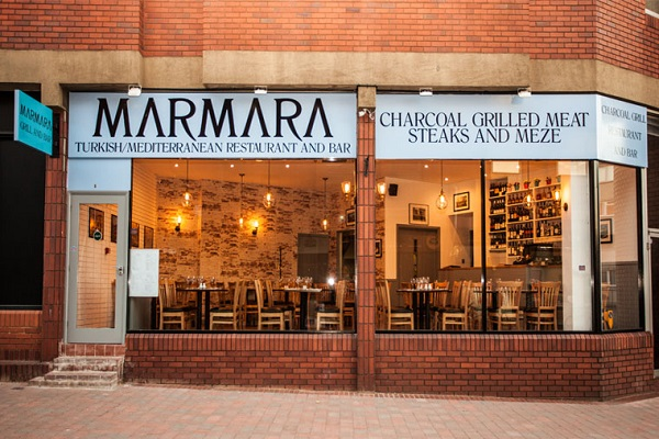 Marmara Restaurant, Peascod St, Windsor