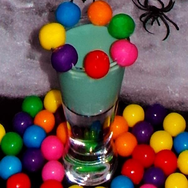 Bazooka Joe Halloween Shot