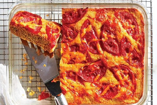 Tomato-Cheddar Cornbread