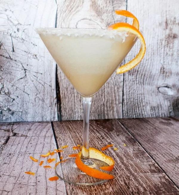 Winter Sunshine Cocktail
