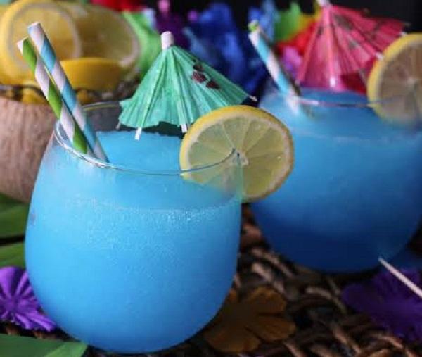 Blue Whale Frozen Cocktail