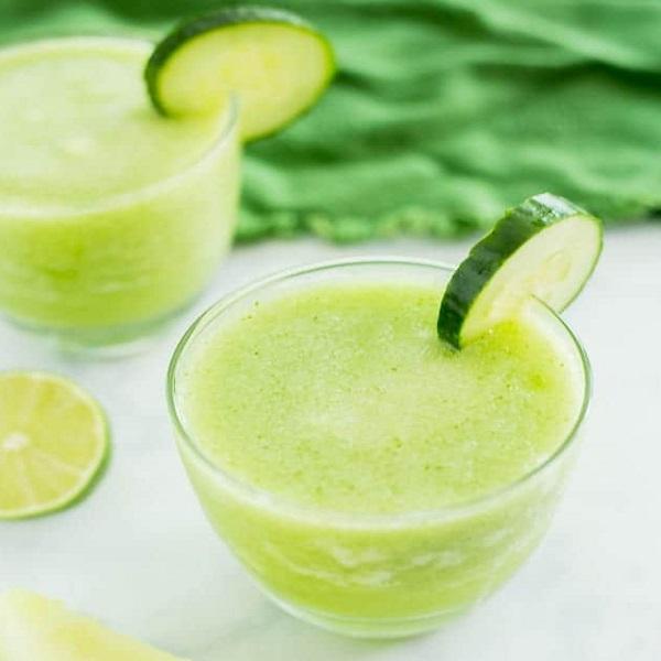 Cucumber & Melon Frozen Cocktail