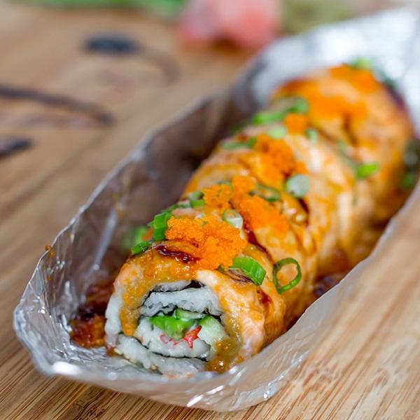 Lion King Sushi Roll