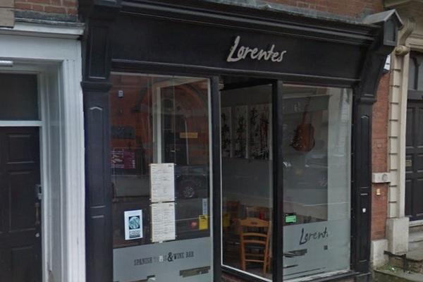 Spanish Bar Lorentes, Friar Gate, Derby
