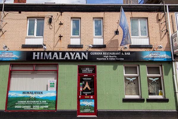 Himalayan Gurkha Restaurant, Macklin Street, Derby
