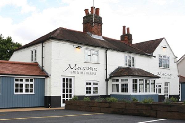 Masons Restaurant, Ingrave Road, Brentwood