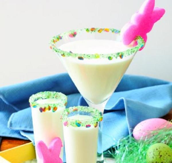 Marshmallow Peep Easter Martini