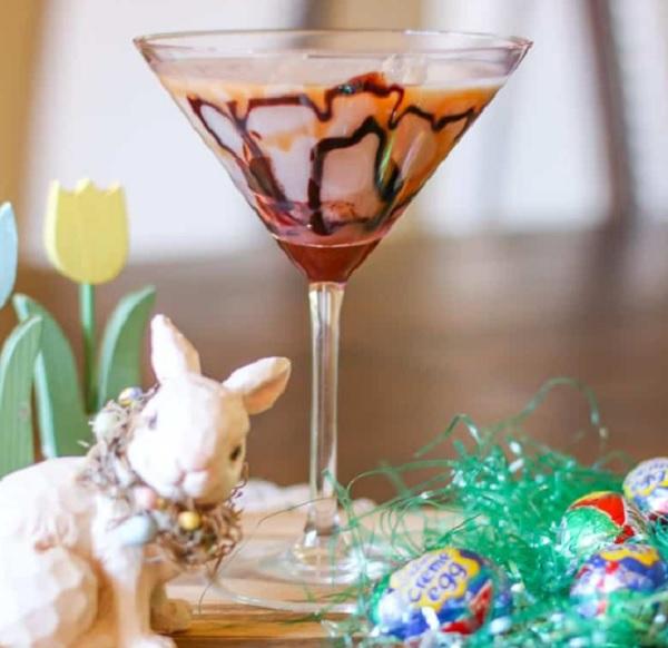 Cadburys Creme Egg Martini
