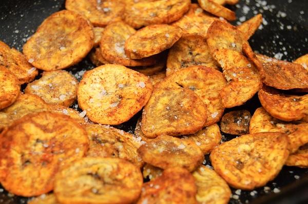 Smoky Plantain Crisps (Chips)