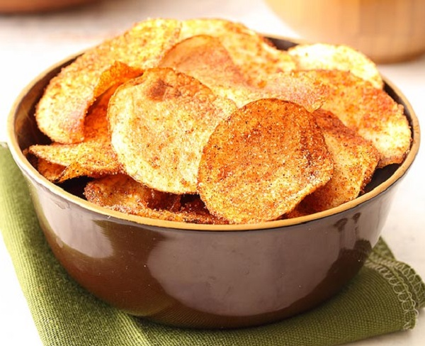 Homemade Barbecue Crisps (Chips)