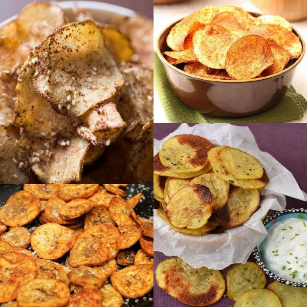 Ten Recipes for Homemade Crisps That Are Healthier Than Store Brought
