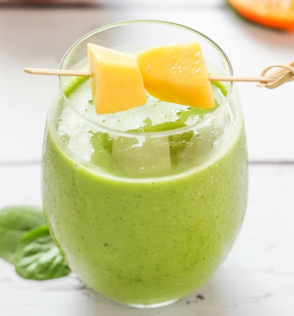 Mango Orange Green Smoothie