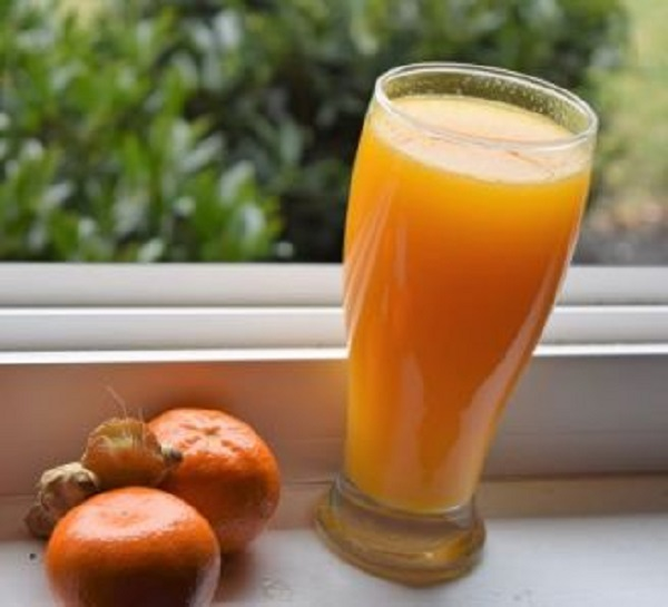 Ginger Orange Juice