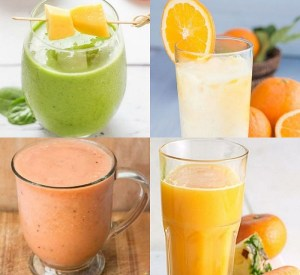 Ten Recipes for Non-alcoholic Drinks Made With Orange Juice