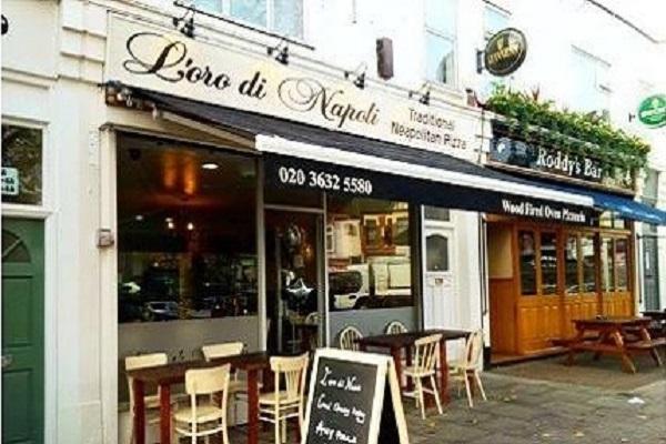 L'oro di Napoli Ealing, Little Ealing Lane, London