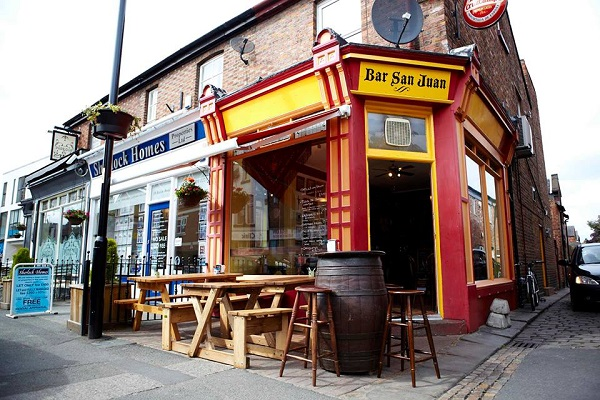 Bar San Juan, Beech Road, Manchester
