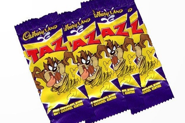 Cadbury's Taz Bar