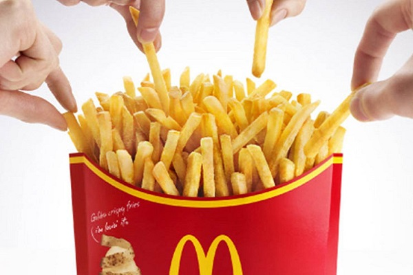 McDonald's Supersize Fries
