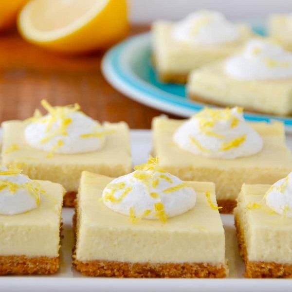 Easy Lemon Cheesecake Bars