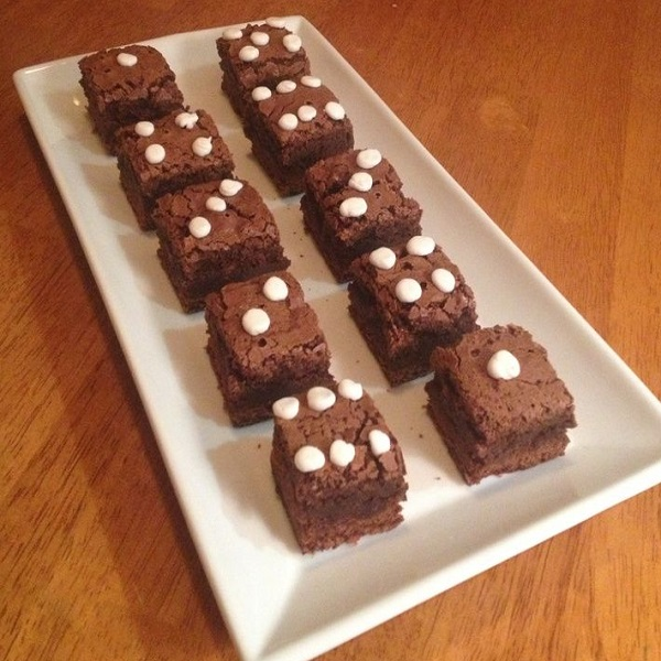 Craps Brownies