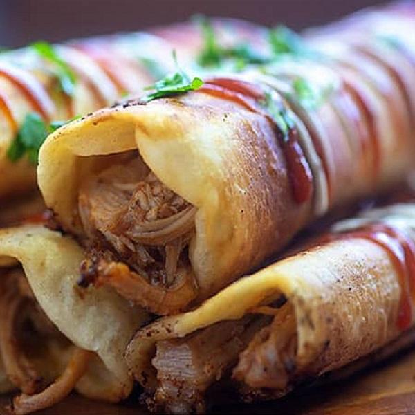Pulled Pork Taquitos